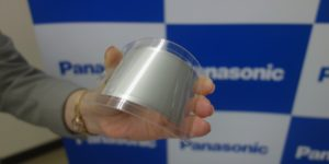 Panasonic Develops Flexible Lithium-ion Battery