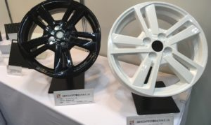 Rapiit Drastically Reduces Weight of Car Wheels With Thermoplastic Resin