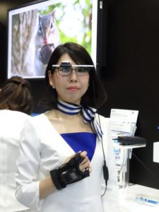 Konica Minolta Develops Eyeglass-Style Wearable Terminal